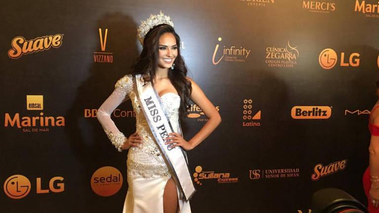 miss peru 2018