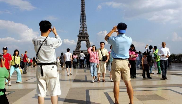 turistas na Europa