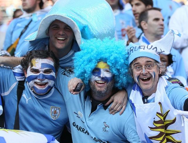 hinchas Uruguai